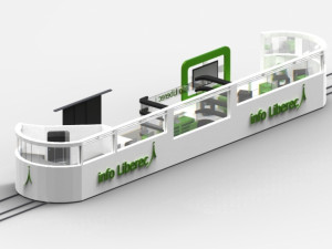 Infocentrum v tramvaji? Proč ne, říká student architektury