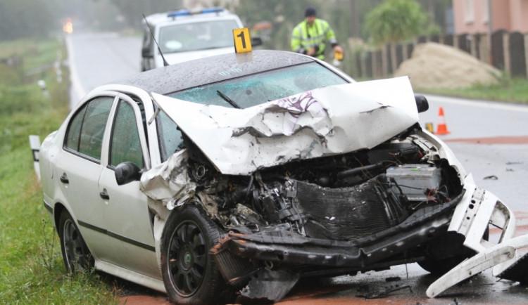 Liberecko: Tři nehody během jediné hodiny
