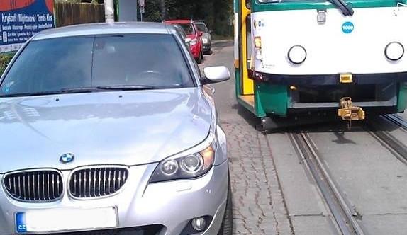 Další řidič zablokoval na půl hodiny tramvaje v Liberci