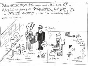 Snoozonica vystaví své komiksy ve vinotéce na Sokoláku