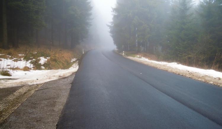 Blesková oprava silnic je u konce. Po nové můžete na Ještěd