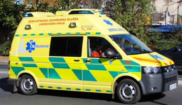 Liberecko: Dva sražení chodci během půl hodiny
