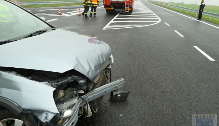 Nehoda u Hrádku si nevyžádala žádné zranění