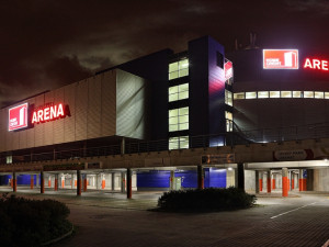 Aréna se rozzářila v barvách nového partnera