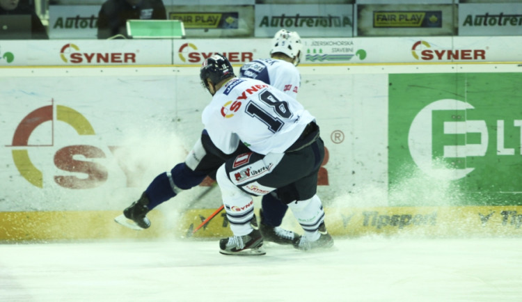 Hokejisté Liberce porazili poprvé v sezoně Plzeň