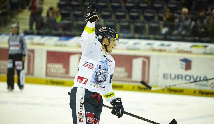Tygři zabrali po šesti prohrách, poprvé v sezoně zdolali Olomouc