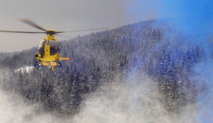 Lyžař se podruhé narodil, záchranáři ho oživovali 25 minut