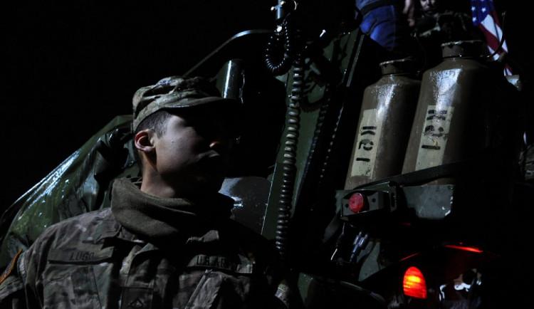 Američtí vojáci měli v Liberci krátkou noc