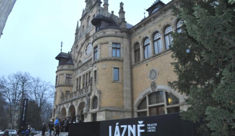 Liberecká galerie otevřela expozici, kterou loni poničila voda