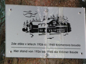Na místě někdejší Krömerovy boudy v Jizerkách stojí útulna