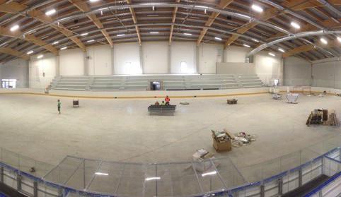 Liberecký kraj má po 10 letech nový hokejový stadion, je v Turnově