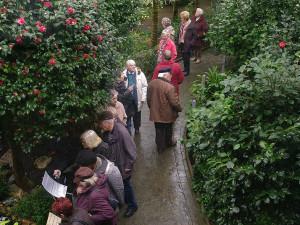 O Botanickou zahradu v Liberci byl na Štědrý den velký zájem
