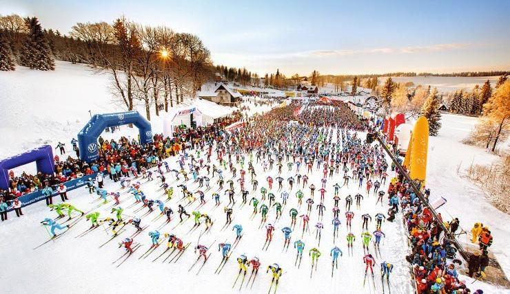Elitní kategorie pojede Jizerskou padesátku přes 50 kilometrů
