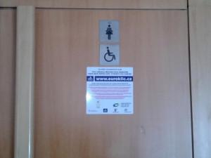 V Libereckém kraji přibývá toalet pro postižené s eurozámkem