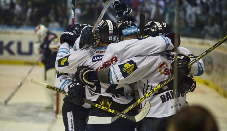 Tygři vyhráli doma i druhé čtvrtfinále, nad Chomutovem vedou 2:0