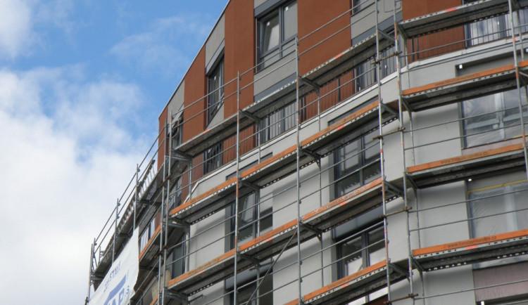 Stavbaři v Libereckém kraji dokončili v prvním čtvrtletí 194 bytů