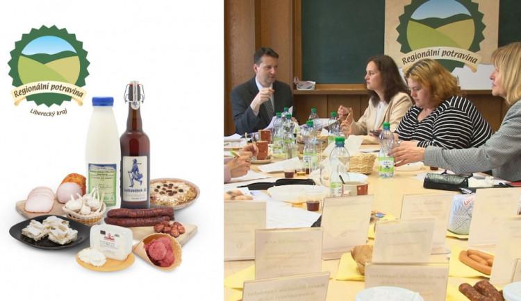 V Libereckém kraji se soutěžilo o značku Regionální potravina