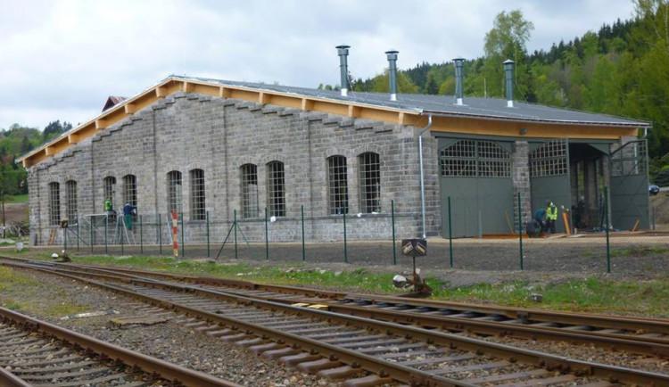 Výtopna v Kořenově bude návštěvníkům přístupná od července