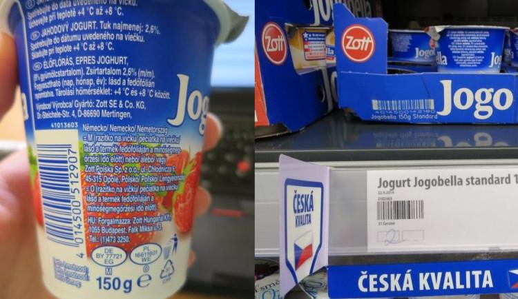 """""""Česká kvalita"""" z Polska. Penny Market klamal zákazníky označením jogurtů"""
