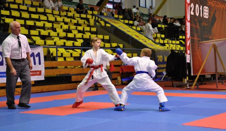 Karatisté z Gryfu zazářili na mezinárodním turnaji v Ústí, přivezli si 15 medailí