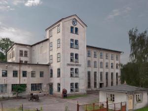 Nejstarší mechanická tkalcovna v Čechách je využívaná z pětiny