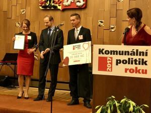 Projekt Rozkvetlý Liberec přinesl Karolíně Hrbkové titul Komunální politik roku