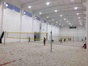 Plážový volejbal v Liberci i v zimě