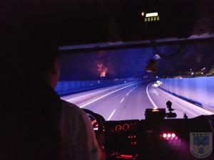 FOTO: Vybydlený Kovák v Chrastavě hořel. Požár zaměstnal profesionální i dobrovolné hasiče