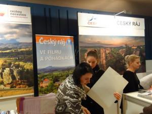 Eurocentrum hostilo veletrh cestovního ruchu. Turistické regiony představil i Liberecký kraj