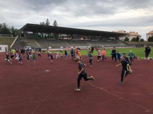Hravé prázdniny ve Sport Parku Liberec letos zažily tu správnou olympijskou atmosféru