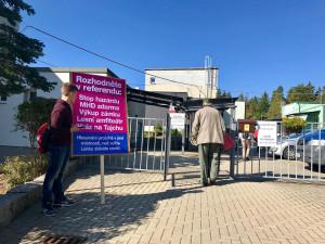 Liberecké referendum je neplatné. Přišlo necelých patnáct procent voličů