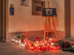 V Hrádku lidé vzpomínali na padlého vojáka Tomáše Procházku