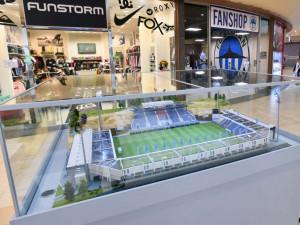 Prohlédněte si model stadionu U Nisy. Autor na něm strávil 2500 hodin