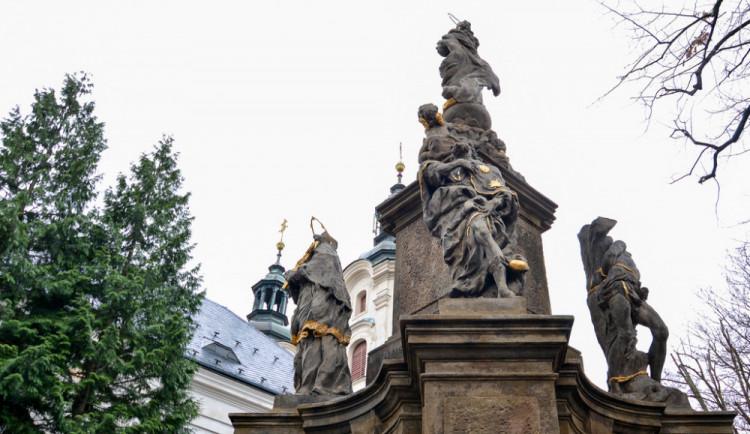 Barokní kostel Nalezení sv. Kříže v Liberci čekají další opravy