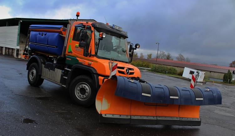 Na boj se sněhem má Liberec sto strojů a pracovníky Komunitních prací