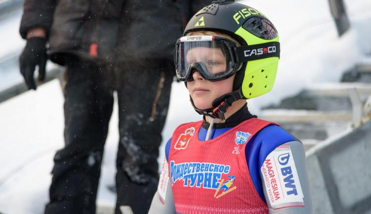 Mladí liberečtí skokané vyrazili na ruské turné čtyř můstků. Jakub Šusta obsadil třetí místo