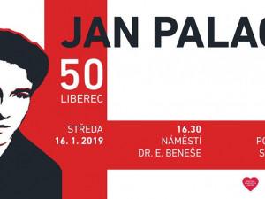 Před libereckou radnicí si zítra připomenou Jana Palacha