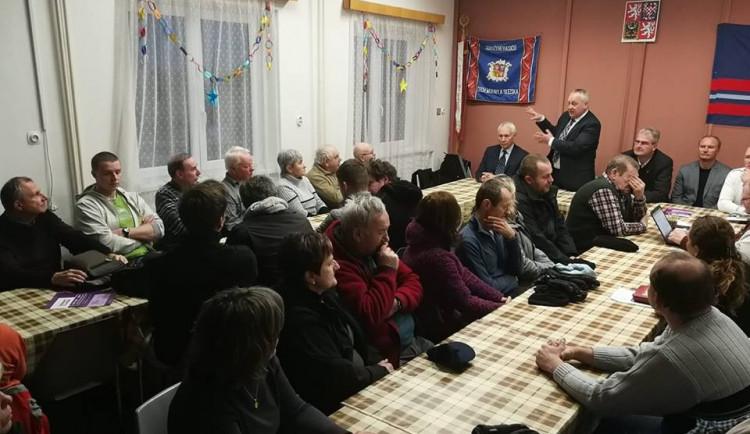 Setkání s občany v Hanychově