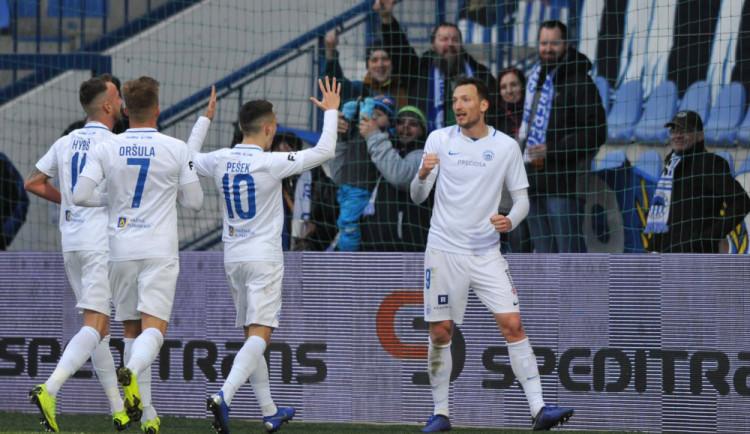 Kozák opět pálil. Slovan porazil Zlín těsně 1:0