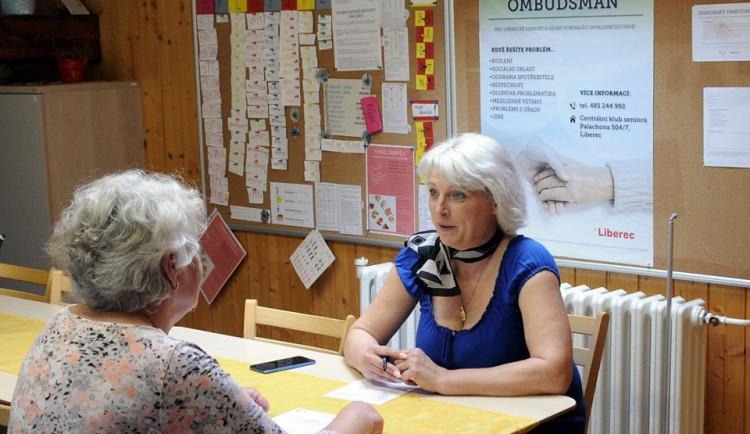 V Liberci bude od dubna pomáhat seniorům ombudsmanka