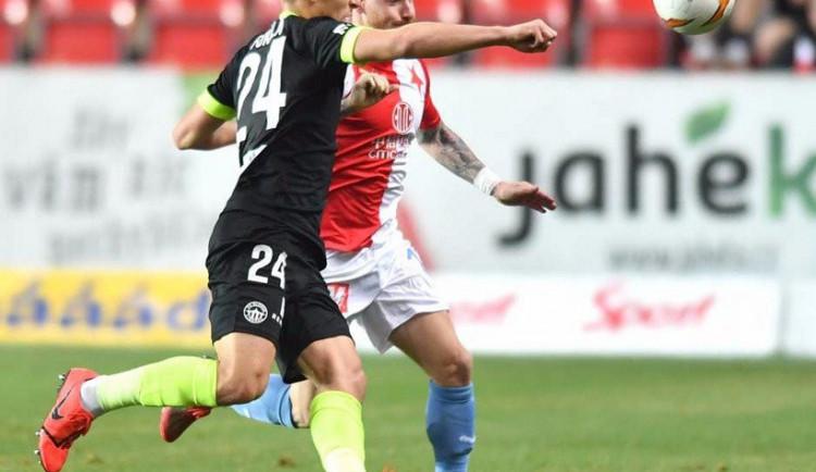 Osmnáctiletý Fukala prožil debut na Slavii. Před zápasem jsem nemohl usnout, říká