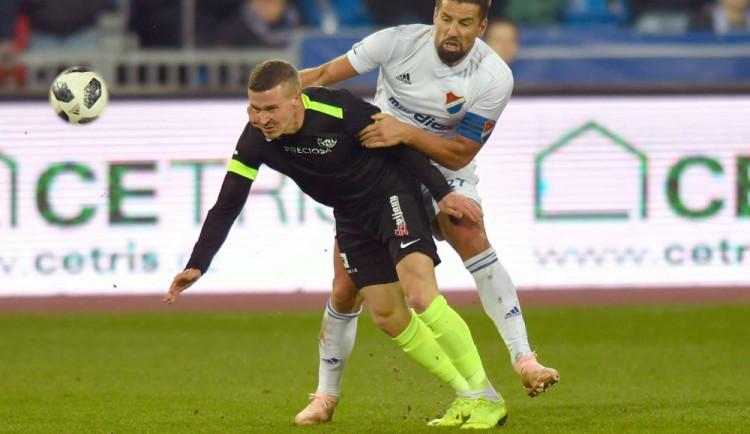 Slovan v poháru končí. Rozhodující gól dostal na Baníku v prodloužení