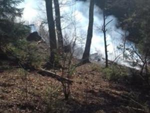 FOTO: U Tajchu hořela stráň, požár hasilo šest cisteren