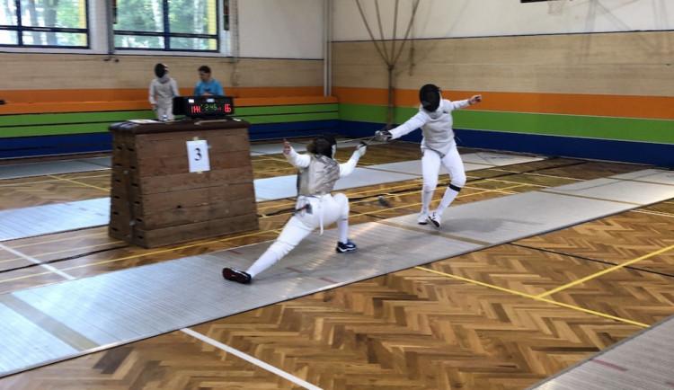 Liberecká Štěpánka Němcová získala stříbro na Mistrovství ČR v šermu juniorek