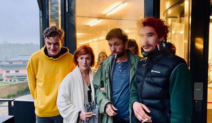 FOTO: V Liberci se začal natáčet seriál Nelegál. První klapky padly na univerzitě