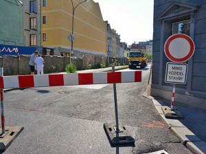 Dnes se rozjedou stavební práce v Raspenavě. Částí Luční ulice neprojedete