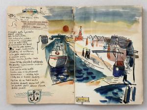 V neděli máte příležitost užít si v Lázních komentovanou prohlídku výstavy Josefa Jíry