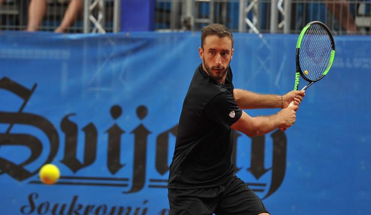 Tenisový challenger Svijany open vyhrál v Liberci Srb Milojevič