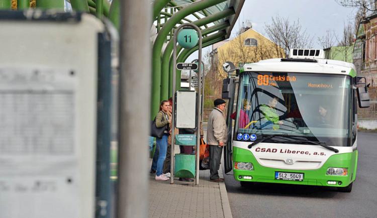 Pozor, v neděli se mění některé jízdní řády autobusů v Libereckém kraji