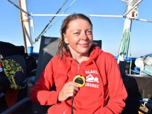 Pořád musím prát, říkát v nadsázce Markéta Pechová. Jako první žena s handicapem přeplavala La Manche